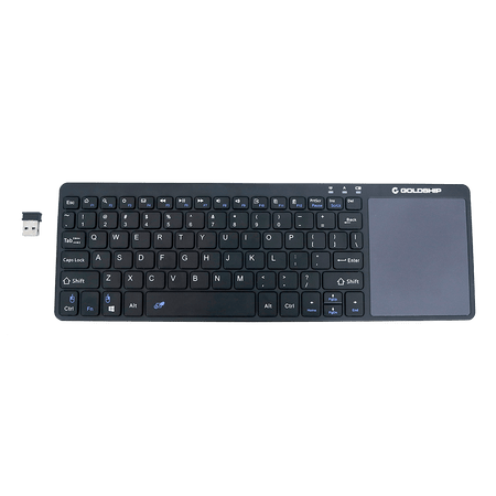 Teclado Smart Goldship Com Touchpad Integrator Smart Tv Tc-1566