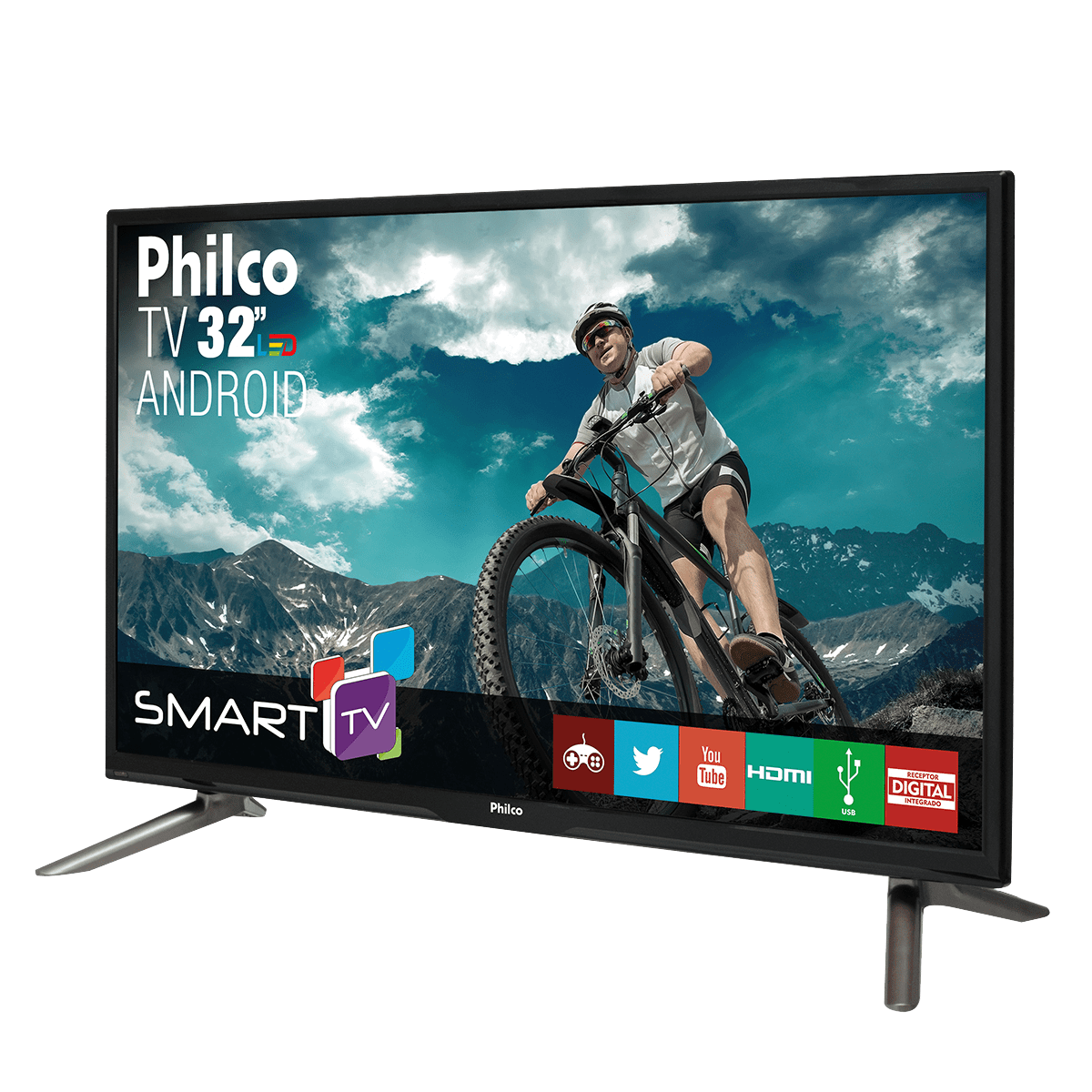 2b612aba5 Smart TV Philco Led 32 Polegadas HD com Conversor Digital Integrado  PH32C10DSGWA
