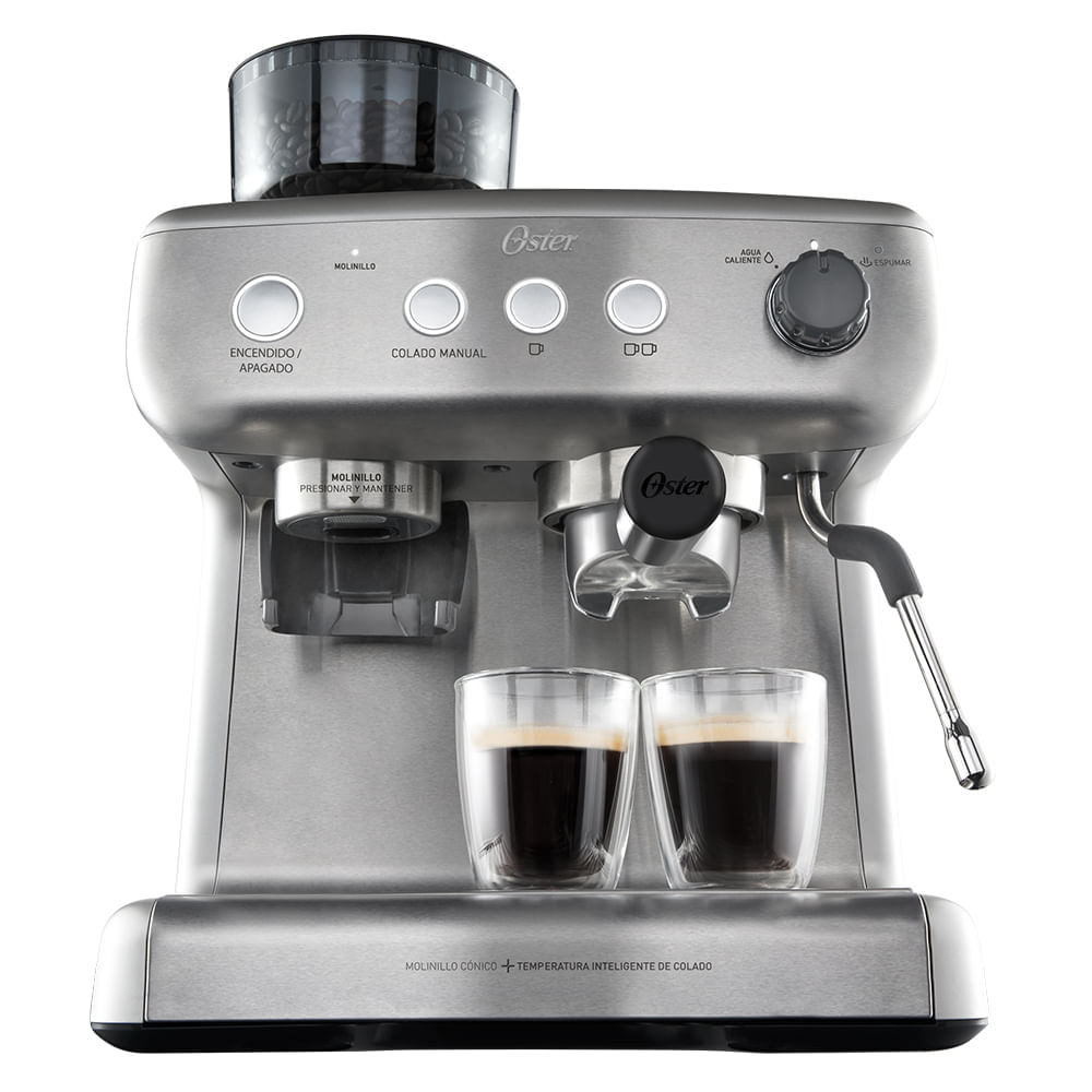 Cafeteira Expresso Oster Xpert Perfect Brew Inox 220v - Bvstem7300-057